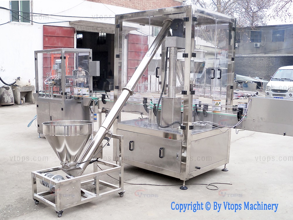 Automatic Can Filling Packing System
