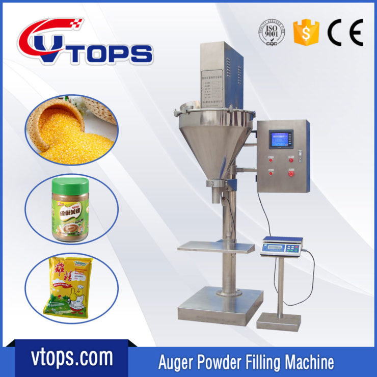 Semi Automatic Powder Filling Machine with Touch Screen