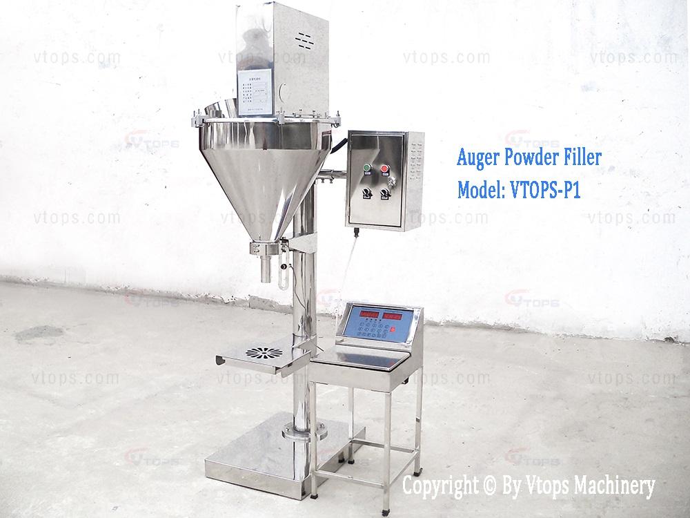 Semi Automatic Auger Powder Filling Machine
