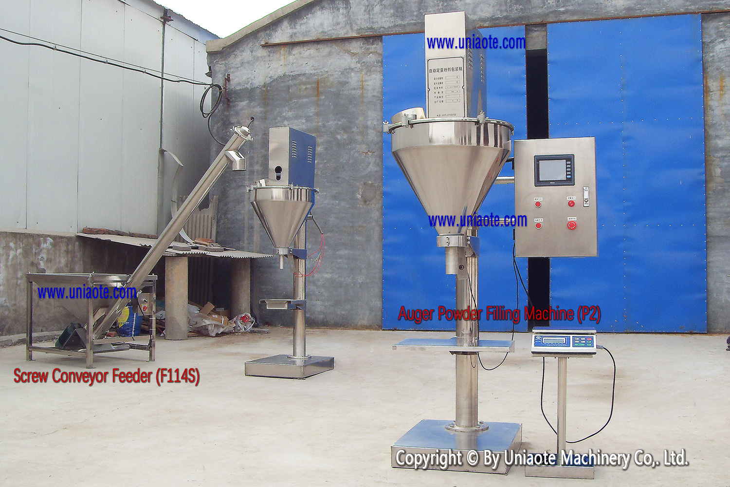 Semi Automatic Powder Filler Machine With Touch Screen