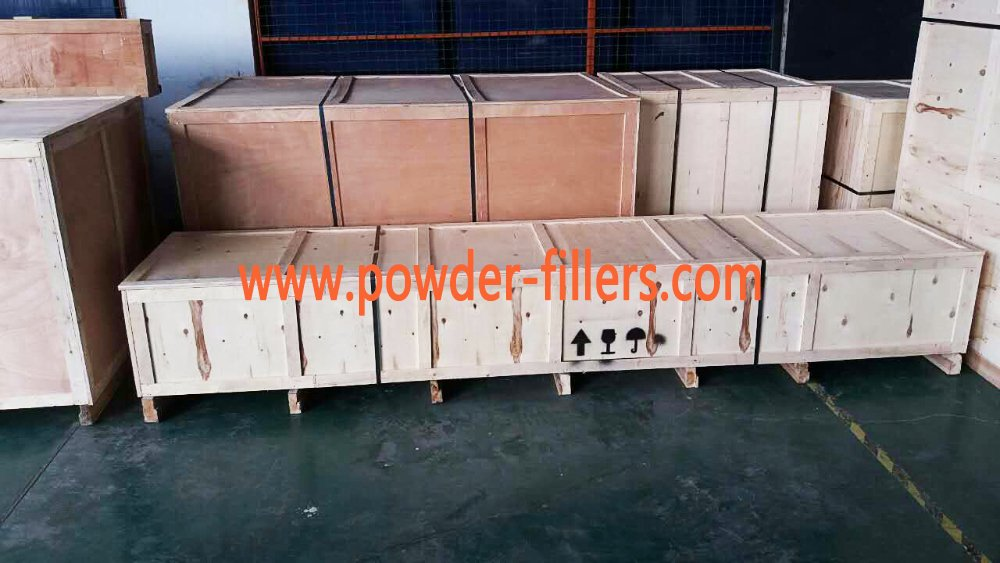 The Transport Photo of Semi Automatic Auger Filler Powder Filling Machine