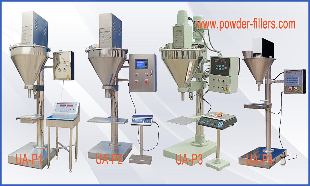Semi Automatic Auger Powder Filling Machines