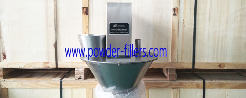 A Photo of Small Dose Semi Automatic Powder Filler Machine Pre-delivery