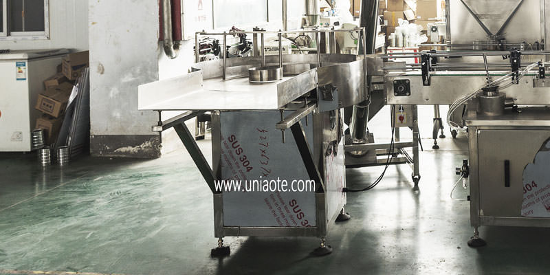 Unscrambler Machine for Bottles