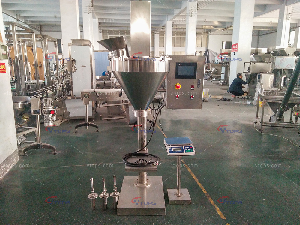 Manual Powder Filling Machine with LCD Touch Screen