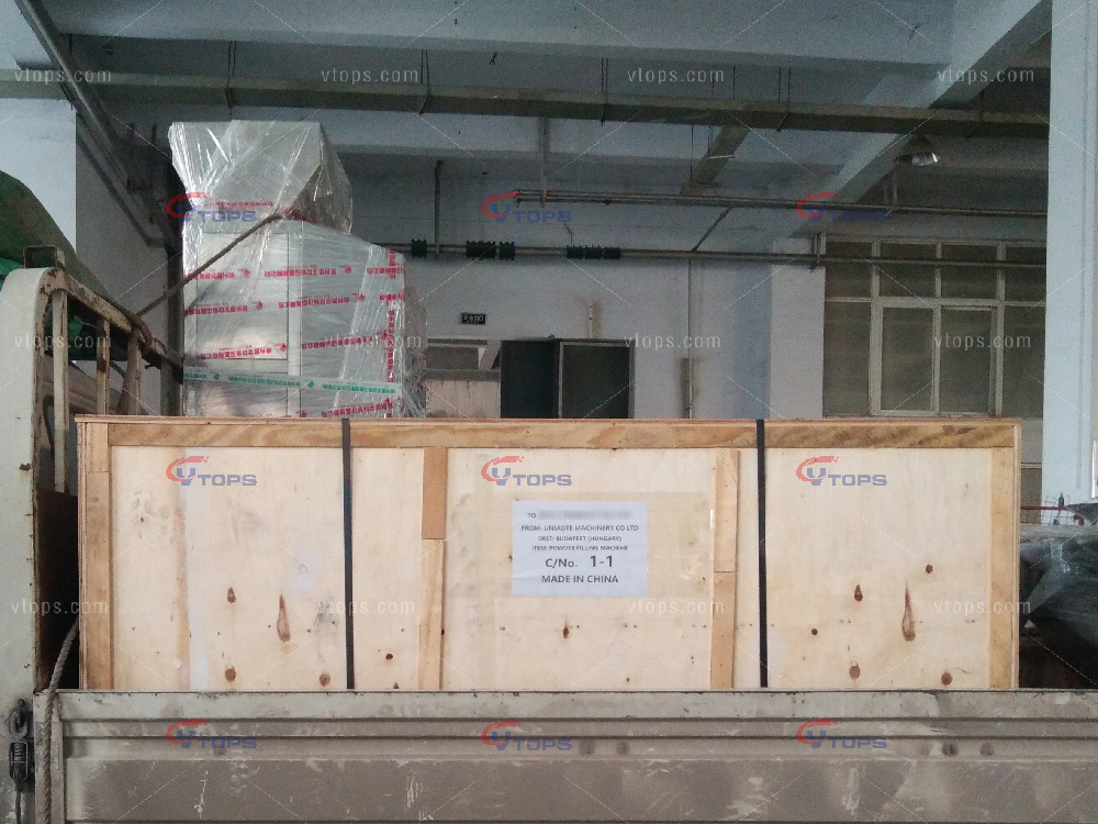 Manual Powder Filling Machine Exported to Budapest of Hungary