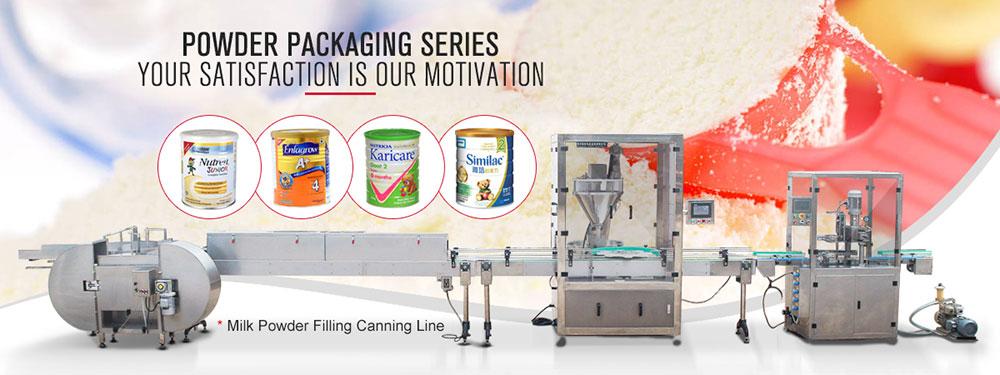 Auger Powder Filling Canning Machine for Formula Milk Powder